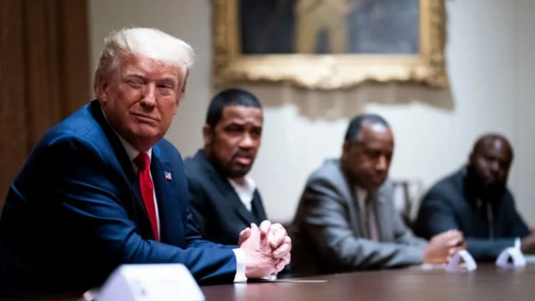 Trump Uses The Slavemaster's Playbook: Blacks 'Thank Him' For Law & Order