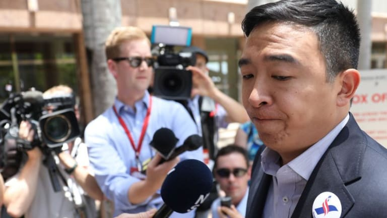 Pay Andrew Yang $1,000 a Month to Get Out of the Presidential Race