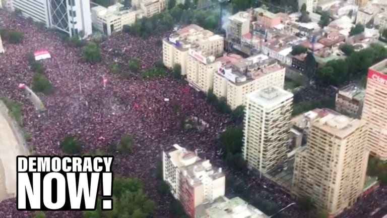One Million Take to Streets of Chile In Resistance of Neo-Liberalism