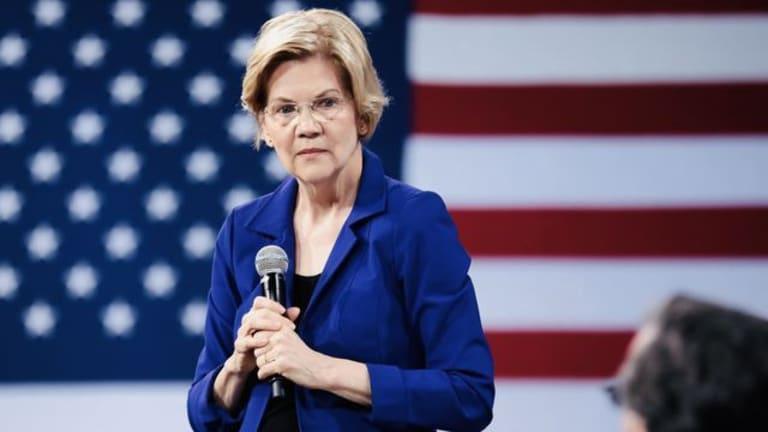 Elizabeth Warren Calls For 'Aggressive' Internet Censorship