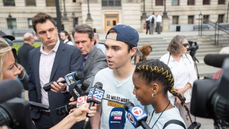 Parkland survivor sends 'thoughts and prayers' to defeated NRA-backed candidates