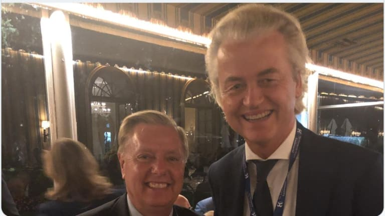 The GOP Leans Into White Supremacy: Lindsey Graham Photo With Geert Wilders