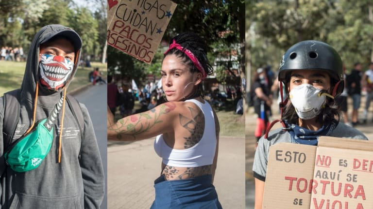 Protesters in Chile Want Their Subjugation by the Rich to End