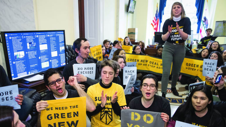 Sunrise Movement Calls for Mass Climate Demonstration Outside Democratic Debate
