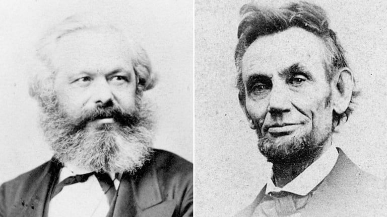 Karl Marx and Abe Lincoln Were Correspondence Friends