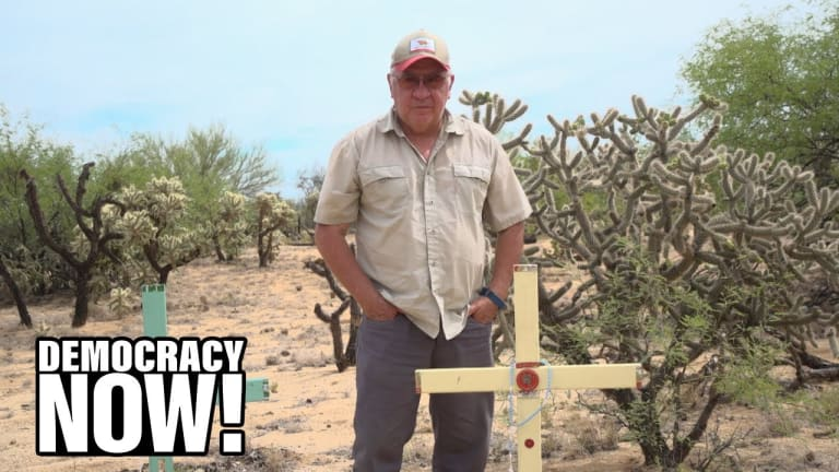 Artist Alvaro Enciso Places Crosses in Sonoran Desert to Mourn Migrant Deaths