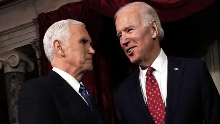 Joe Biden Views VP Pence As 'A Decent Guy'