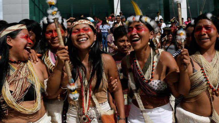Amazon Tribe Wins Lawsuit Against Big Oil, Millions of Acres of Amazon Spared