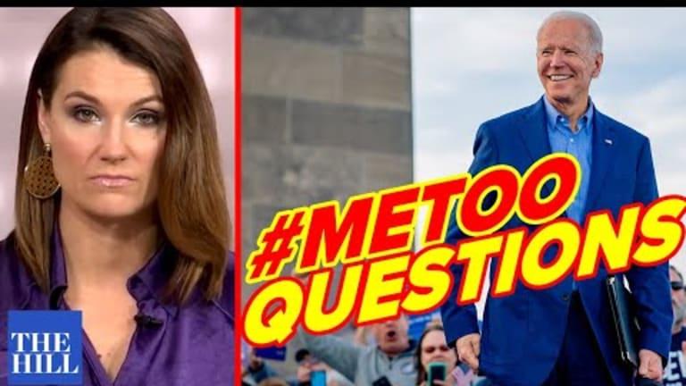 Krystal Ball blasts media's Joe Biden #MeToo coverup
