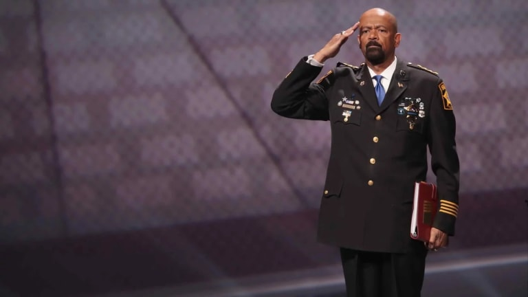 Fox News Boots America's Toy Soldier Cop, Sheriff David Clark