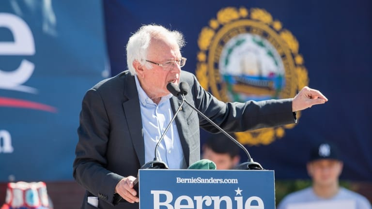 Sanders Unveils Plan to Get Corporate Money Out of Politics