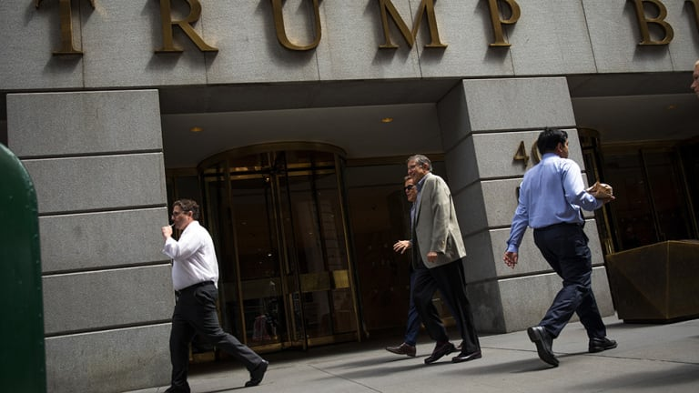 Democrats seek to ban federal spending at Trump businesses