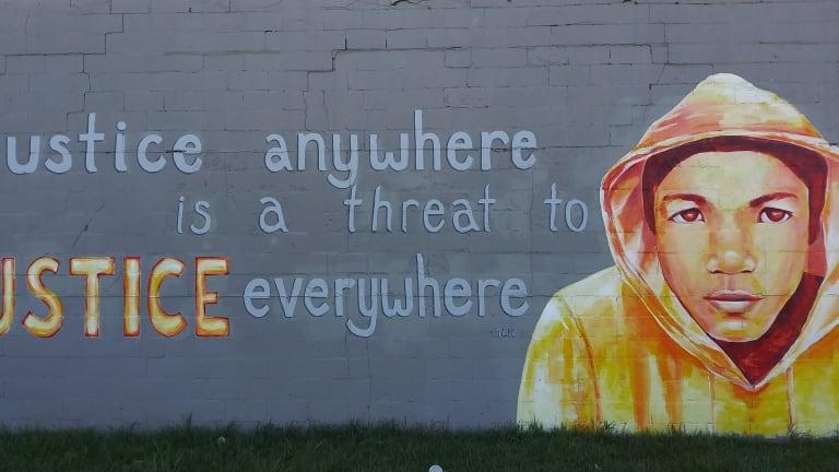 Black Lives Matter - Mural By Katie Yamasaki, 2013