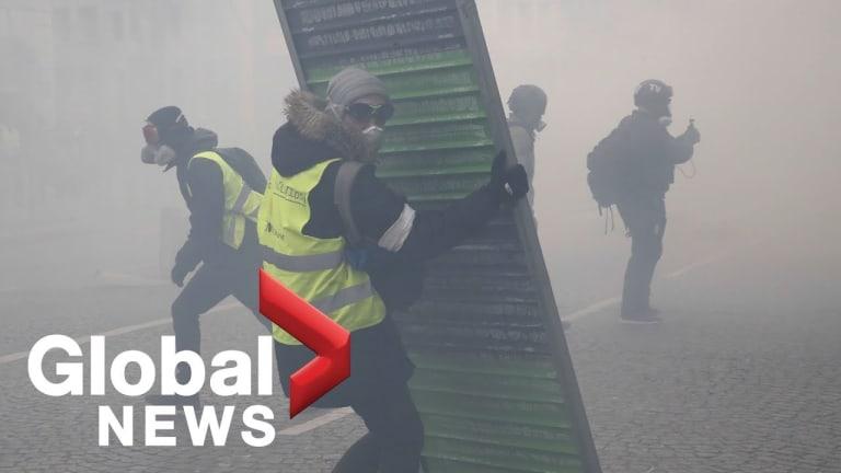Paris Yellow Vest Protests Intensify