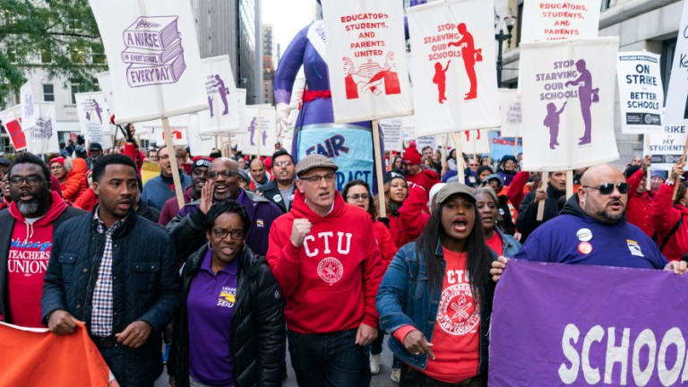 Chicago Teachers Strike Demanding Benefits and Pay That Reflect Dignity