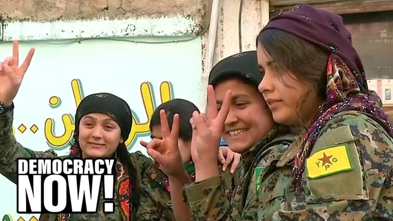 Turks Crushing Kurds' Radical Experiment Based on Democracy, Feminism & Ecology
