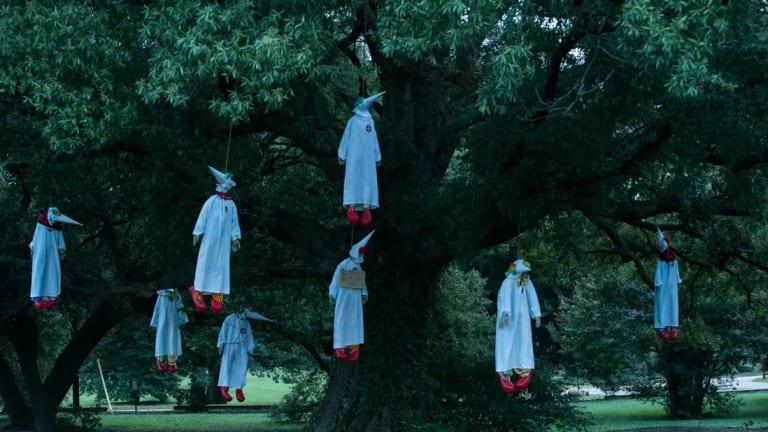 From 2017: Hanging Klansmen Klowns Art Display In Virginia
