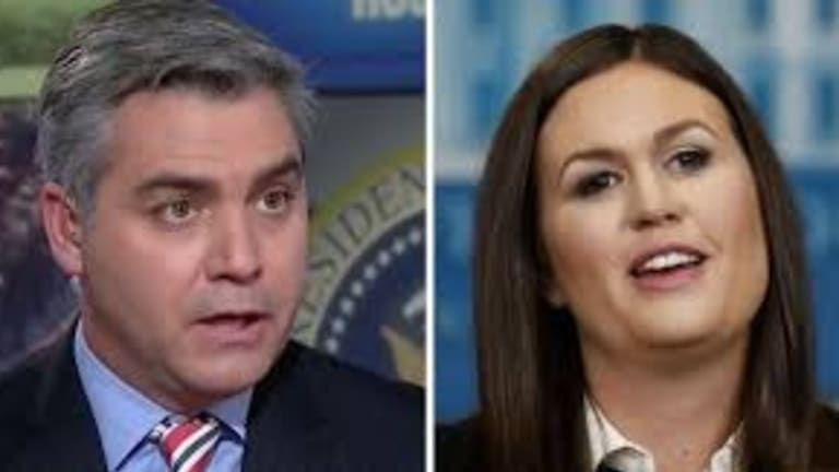 White House Press Secretary, Sarah Sanders Releases InfoWars Doctored Video