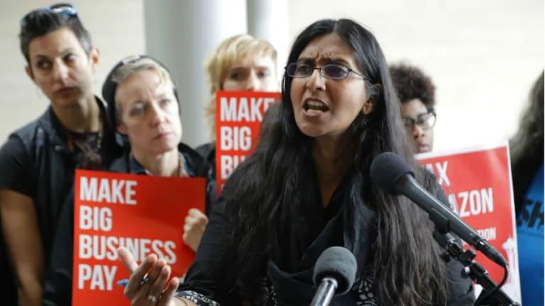 Seattle Socialist Kshama Sawant Wins Despite Huge Amazon Cash Against Her