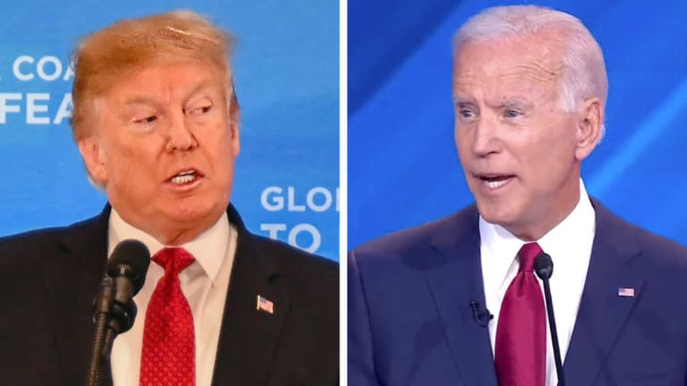 Biden Seems to be Trying to Out Trump Trump...Stop It Joe, You'll Lose, Bigtime