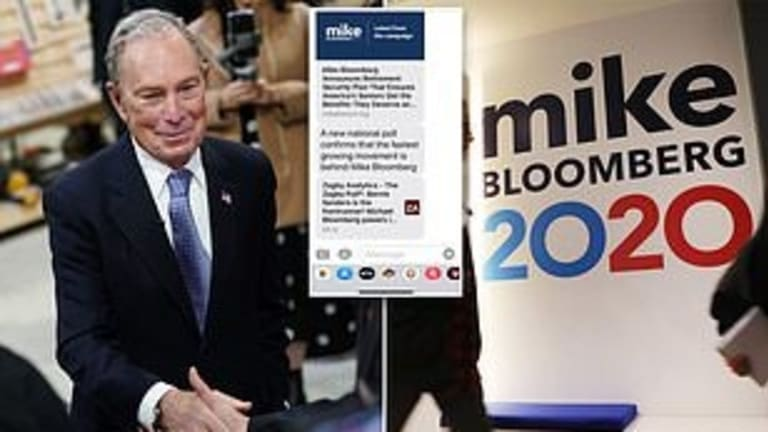 Axios: Bloomberg pays Californians to support him on social media