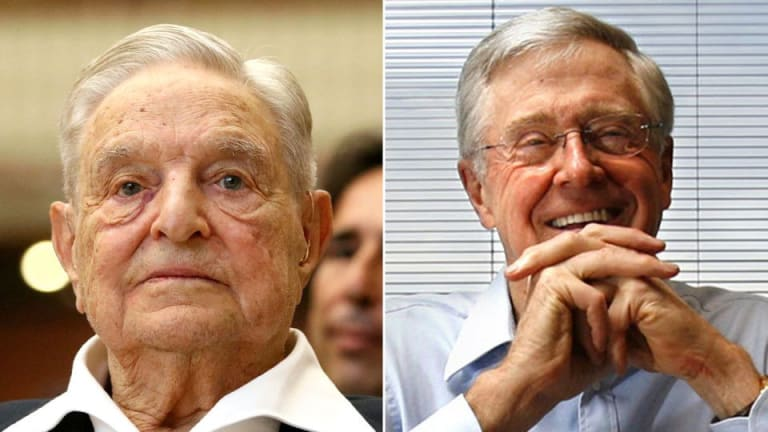 Plot Twist! George Soros and Charles Koch team up to end US 'forever war' Policy