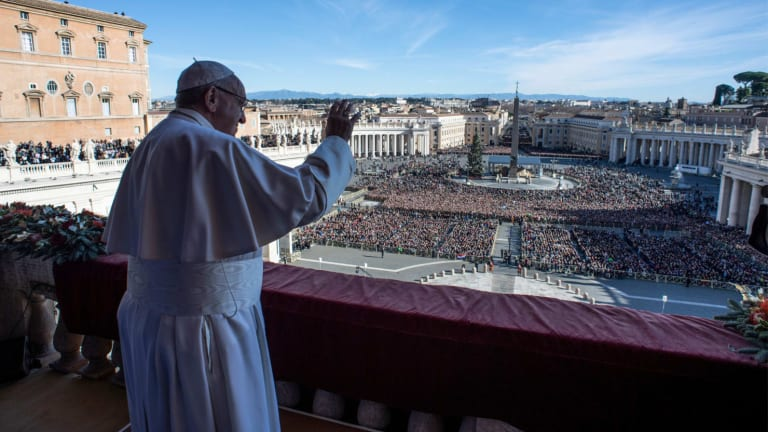 Pope Francis' Christmas Message is Banal, Trite, But Still Important