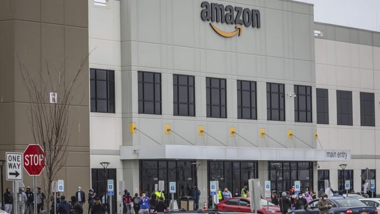 Detroit Amazon workers strike to demand COVID-19 protection