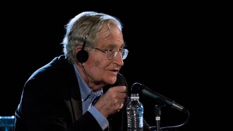 "Noam Chomsky: ""Worship of Markets"" Is Threatening Human Civilization"