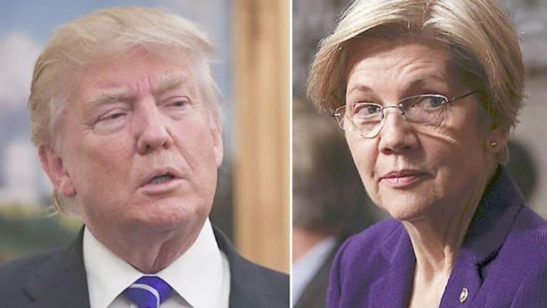 Trump mocks Elizabeth Warren by citing Wounded Knee massacre
