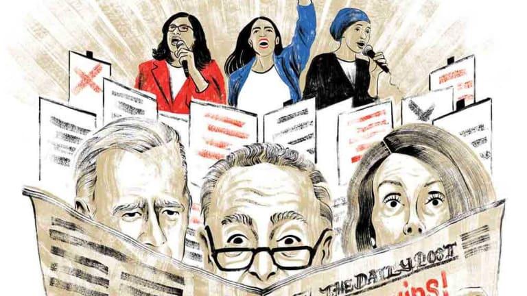 Ocasio-Cortez Aide Says Democrats Have Been Cowards Since Reagan