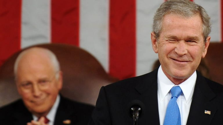 Why Are Dems Rehabbing and Lifting Up W Bush? Pandering For Bush Republican Vote