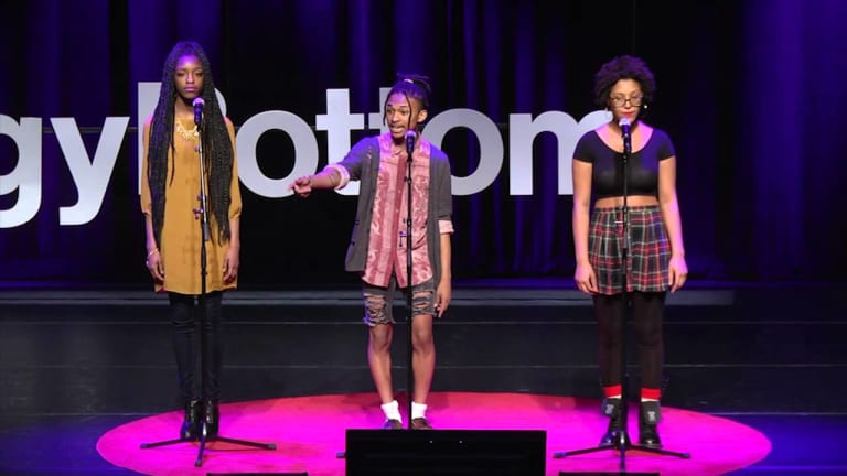 This mouth, this body, this being, is an act of rebellion | DC Youth Slam Team |