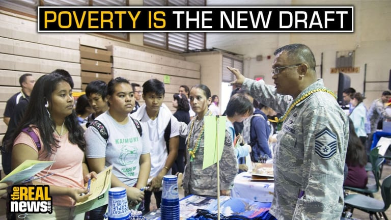 Poverty Is The New Military Draft