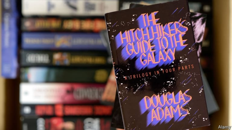"""""""The Hitchhiker's Guide To The Galaxy"""" turns 42"""