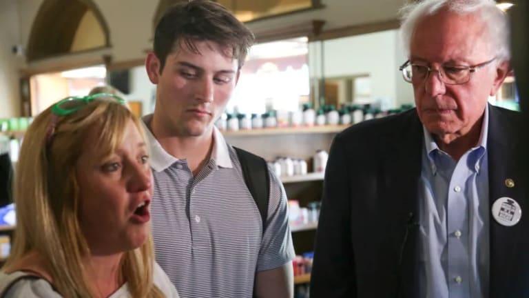 Bernie Sanders Travels to Canada on 'Insulin Caravan', Highlights High U.S. Cost
