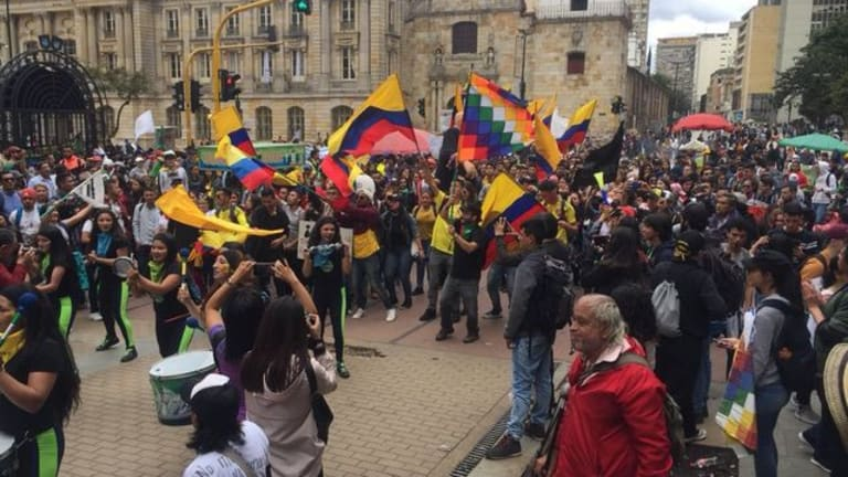 People's World Uprising: Columbian Workers Launch 2nd National Strike in a Week