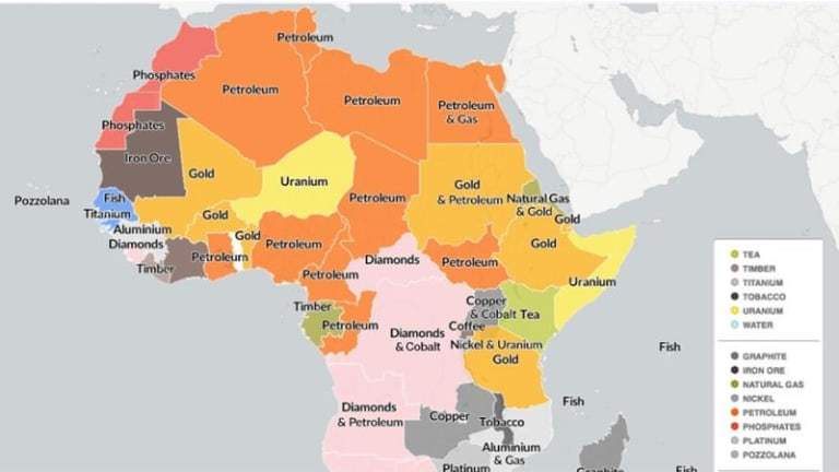 Africa Isn't Poor - Her Wealth Is Being Stolen...