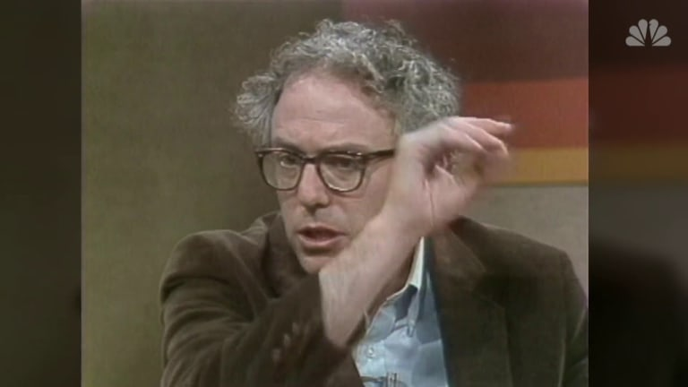Bernie Sanders 38 Years Ago, On The Today Show 1981 - Same Guy He's Always Been