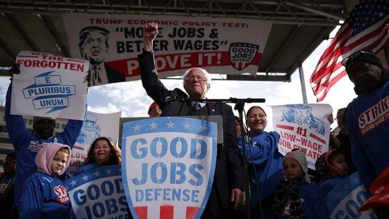 Bernie Sanders Calls for More Worker-Ownership Stake in Industry