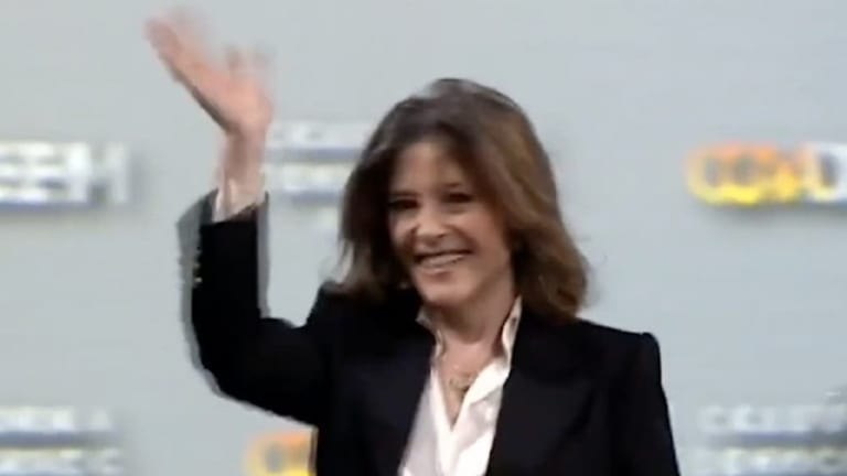 With love and gratitude... Marianne Williamson suspends her campaign