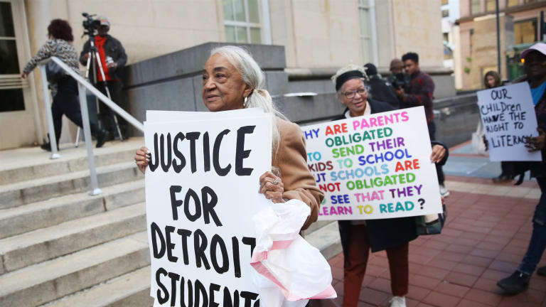 How a lawsuit over Detroit schools could have an 'earth-shattering' impact