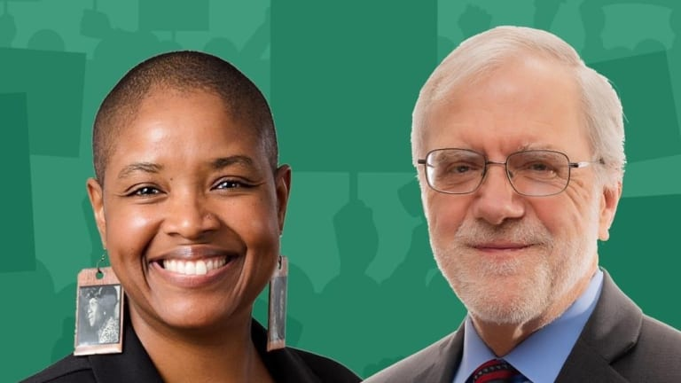Green Party candidate Howie Hawkins selects running mate Angela Walker