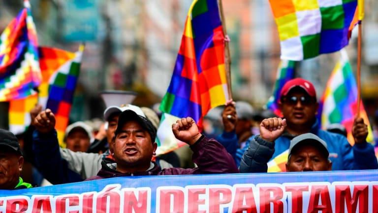 Bernie Sanders Denounces Bolivian Coup...Biden, Warren, and Buttigieg Silent