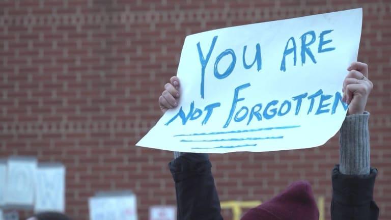 Hundreds Protest As NYC Jail Has No Heat During Polar Vortex