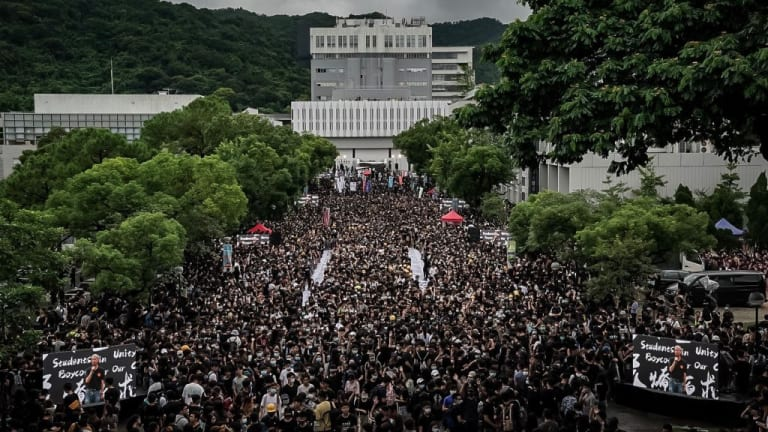 Four Points on the Hong Kong Protests