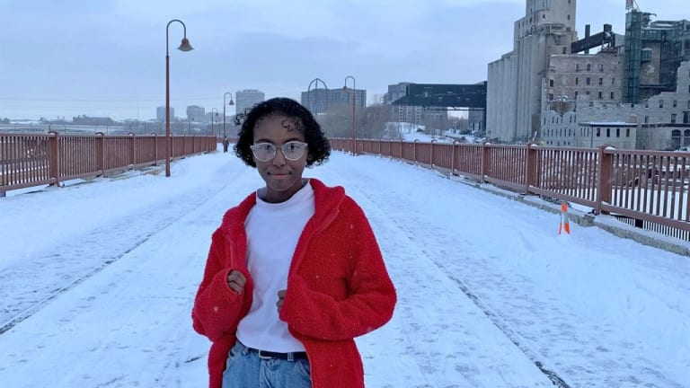Rep. Ilhan Omar's daughter, Isra Hirsi, Leads Youth Climate Strike