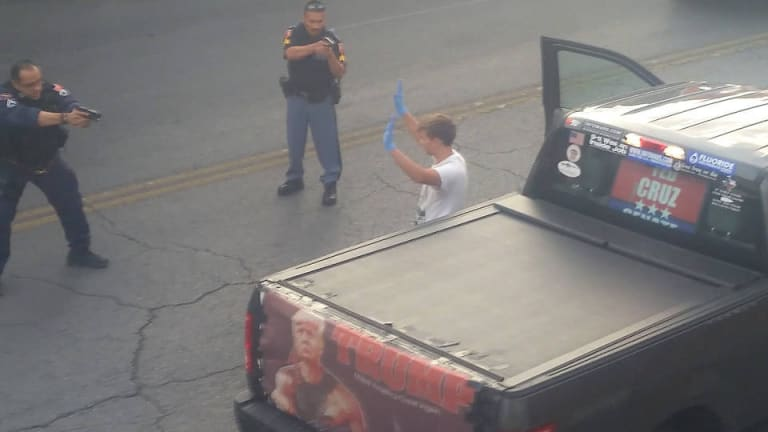 Trump Supporter with Loaded Pistol Arrested Outside El Paso Immigrant Center