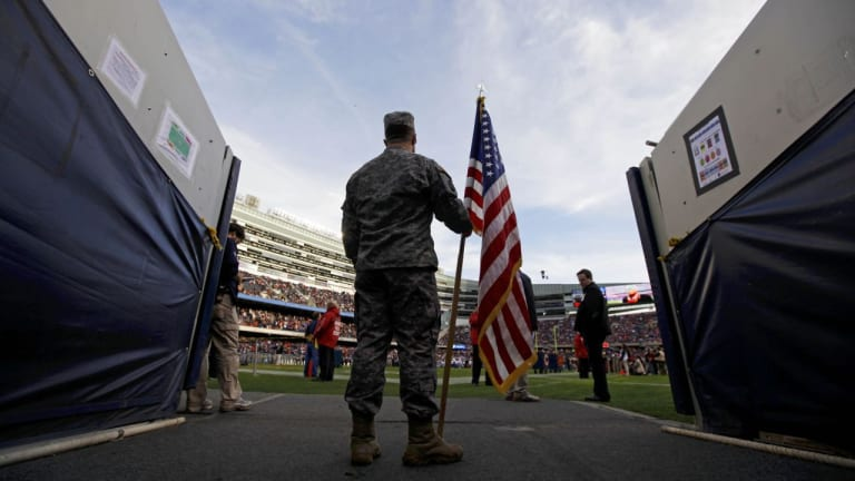 How the NFL sold patriotism to the U.S. military for millions