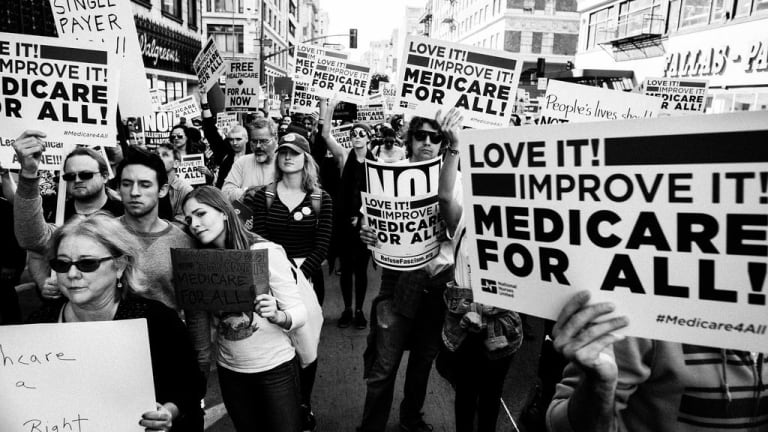 We Don't Want a Public Option — We Want Medicare for All